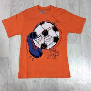Футболка для мальчиков с мячом