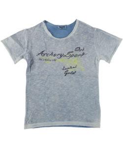 Детская футболка серая
