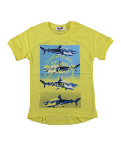 Детская футболка с рыбой