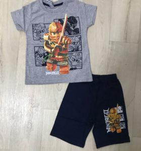 Комплект футболка + шорты для мальчиков