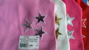 Шапки со звездочками для девочек