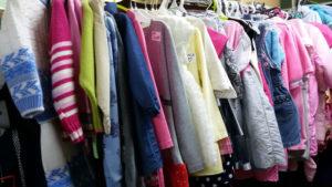 Верхняя одежда в комиссионном магазине