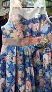 Платье летнее детское