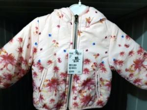 Куртка для девочек в цветах