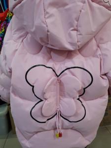 Куртка с бабочкой для девочек