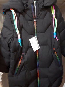 Черная куртка для мальчиков