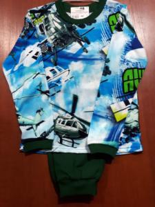 пижама с самолетами