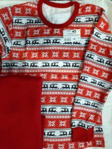 Детская пижама красная