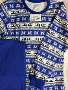 Детская пижама синяя