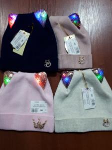 Ушастые шапки для девочек