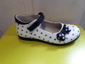 Туфли в горошек