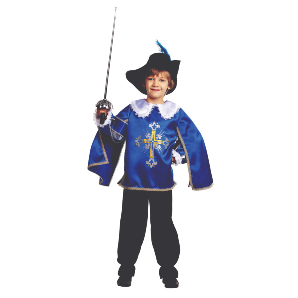 Костюм мушкетера синий