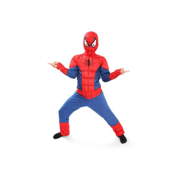 Человек-паук в комбинезоне