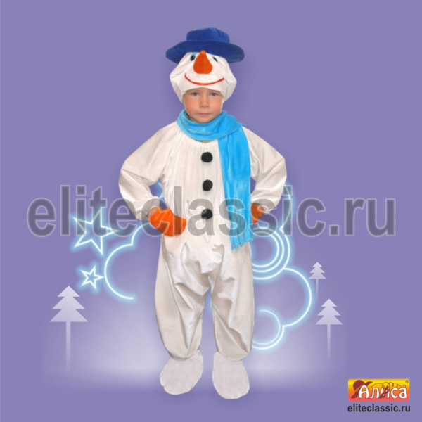 Костюм снеговика-2