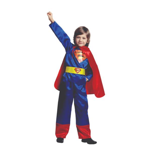 Костюм супермена в синем