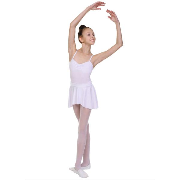 Юбка для танцев белая