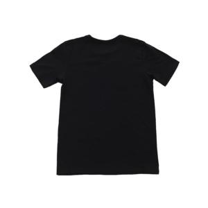 Детская черная футболка