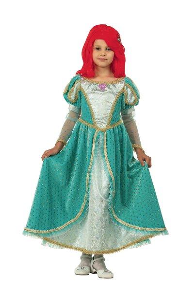 Карнавальный костюм принцессы Ариэль в бархате