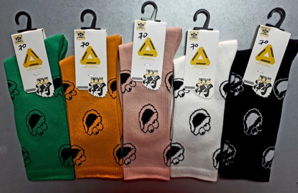 Носки с лягушатами