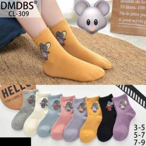 Детские носки с мышкой