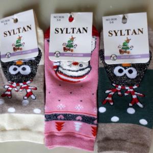 Носки новогодние детские