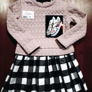 Детское платье из джерси