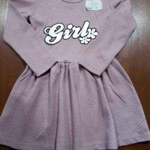 Платье Girl розовое