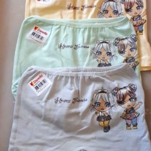 Трусы - шорты для девочек с куколками