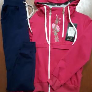 Спортивный костюм для девочки розовый