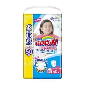 Трусики Goo.N XL 12-20 кг для девочек - 50 шт.