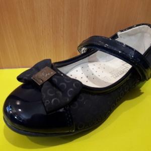Туфли с синим лаковым носком бантиком и бабочкой TOM.M 27 - 32