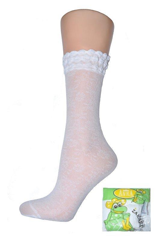 Носки белые капроновые Skarpetki для девочек
