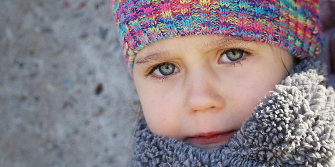 Девочка в шапке