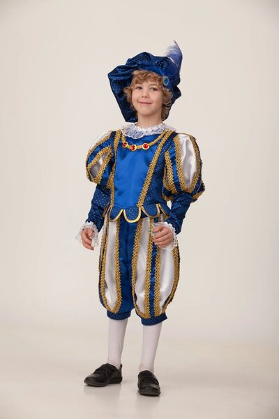 Карнавальный костюм принца в берете