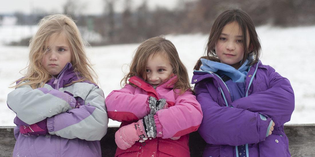 Теплые детские куртки