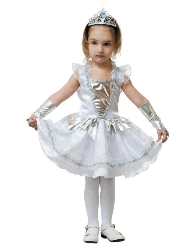 Карнавальный костюм Снежинки серебряной