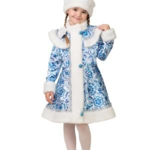 Карнавальный костюм Снегурочки гжель