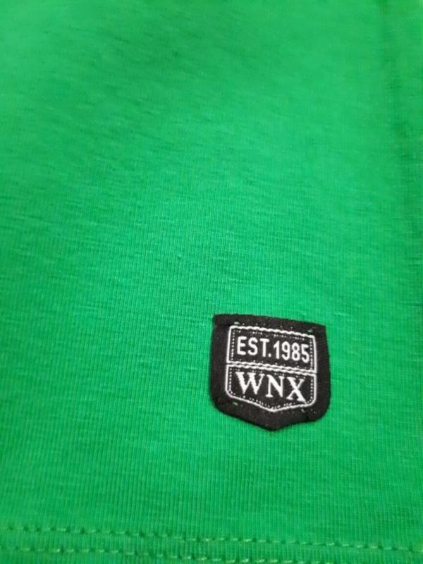 Свитшот трикотажный зеленый с тигром Ванекс рост 92 - 122